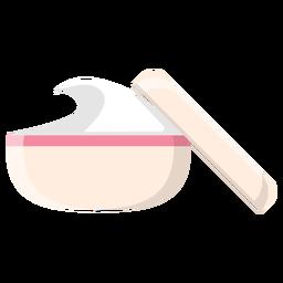 Ícone de creme de spa