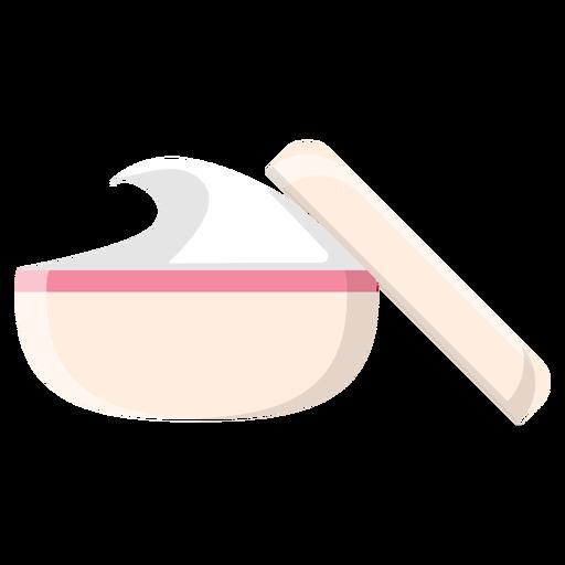Spa cream icon Transparent PNG