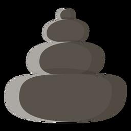 Icono de piedras spa