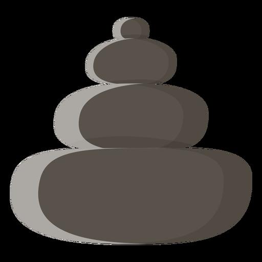 Ícone de pedras de spa Transparent PNG