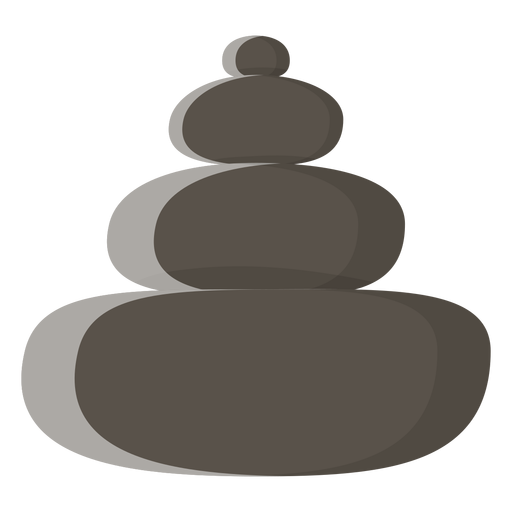 Icono de piedras spa Transparent PNG