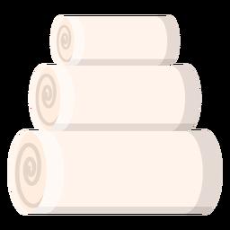 Ícone de toalhas de spa