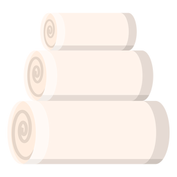 Spa towels icon