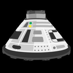 Icono de cápsula de espacio