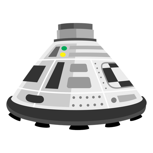 Space capsule icon Transparent PNG