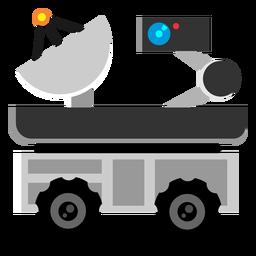 Ícone de rover de exploração espacial