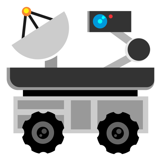 Space exploration rover icon Transparent PNG