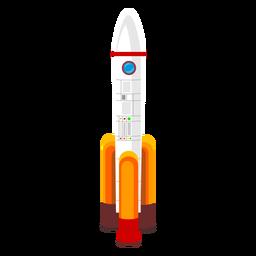 Weltraumrakete-Symbol