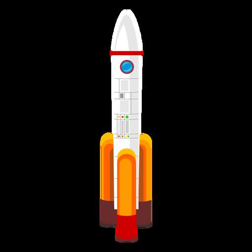 Icono de cohete espacial