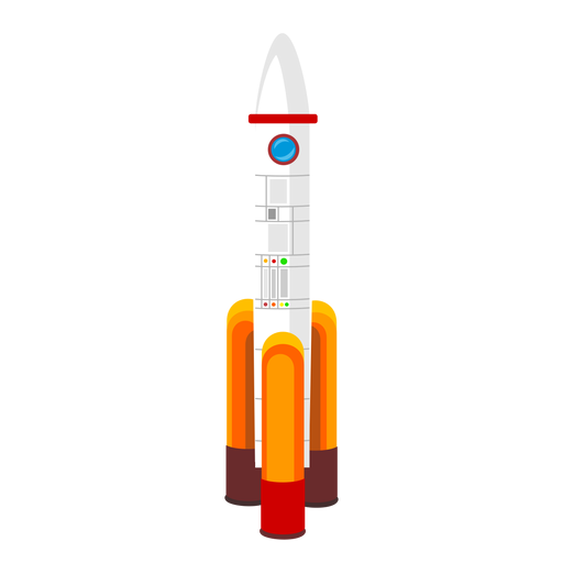 Space rocket icon Transparent PNG