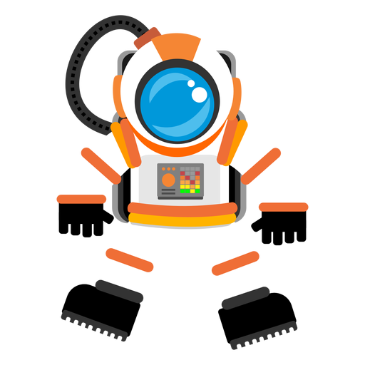 Space suit icon Transparent PNG