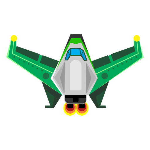 Spaceship flat icon Transparent PNG