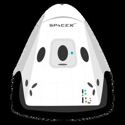 Icono de la nave espacial spacex
