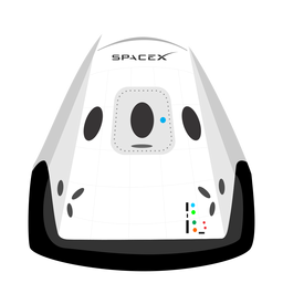 Spacex spacecraft icon