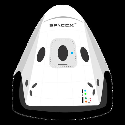 Icono de nave espacial Spacex