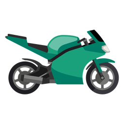 Icono de moto deportiva