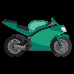Icono de motocicleta deportiva