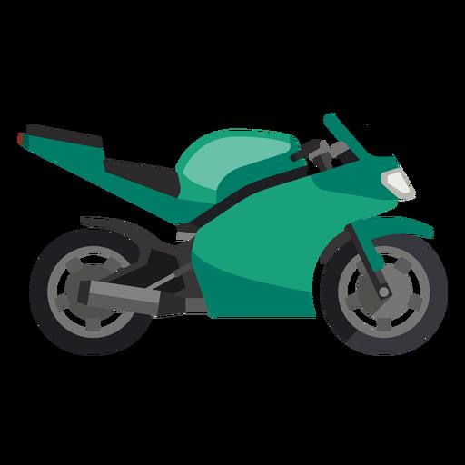Icono de moto deportiva Transparent PNG
