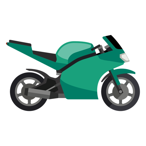 Sport motorcycle icon Transparent PNG