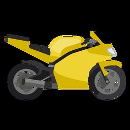 Icono de bicicleta deportiva