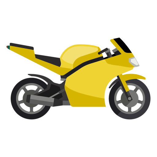 Sports bike icon Transparent PNG