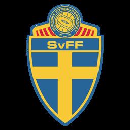 Logo der schwedischen Fußballmannschaft