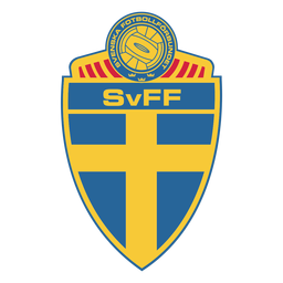 Logotipo da equipe de futebol da Suécia