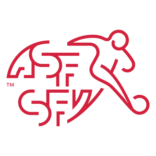 Logotipo del equipo de fútbol de Suiza Transparent PNG