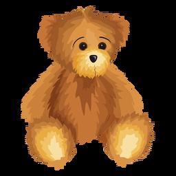 Ilustración del oso de peluche