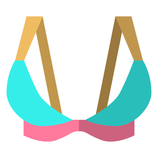 Triangle sports bra icon Transparent PNG