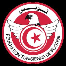 Logotipo da equipe de futebol da Tunísia