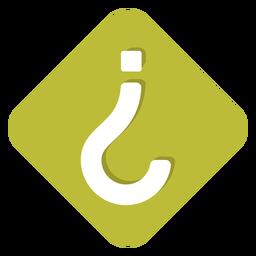 Icono de signo de interrogación al revés