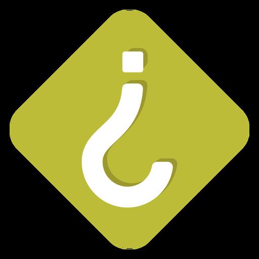 Icono de signo de interrogación al revés Transparent PNG