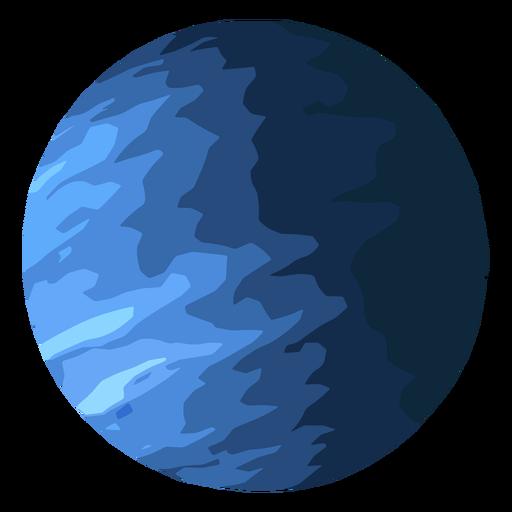 Icono de planeta Urano Transparent PNG