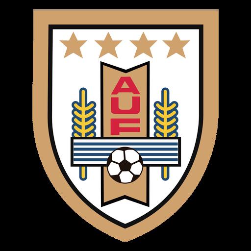 Logotipo da equipe de futebol do Uruguai Transparent PNG