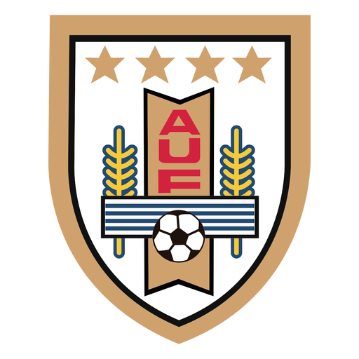Uruguay football team logo Transparent PNG