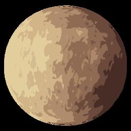 Icono de planeta venus