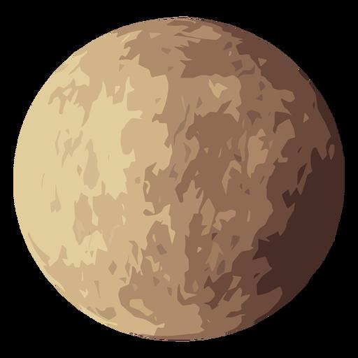 Icono de planeta venus Transparent PNG
