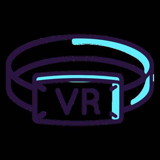 Icono de pulsera de realidad virtual. Transparent PNG