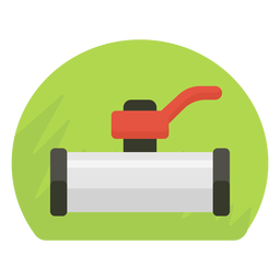 Water shut off valve icon