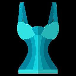 Ícone de sutiã de espartilho de mulheres