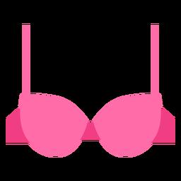 Ícone de sutiã demi mulheres