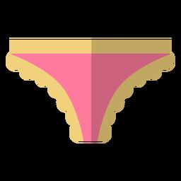 Icono de bikini de encaje de mujer