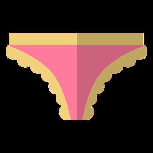Ícone de biquíni de renda feminina Transparent PNG