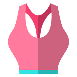 Women sports bra icon