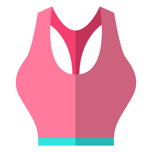 Women sports bra icon Transparent PNG