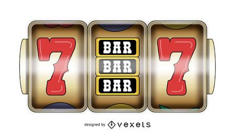 Pantalla de juego de casino
