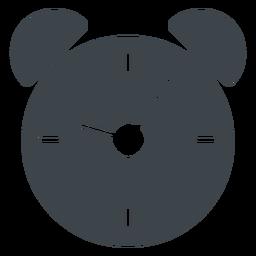 Wecker flach Schule Symbol