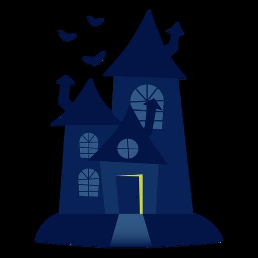 Ilustración casa embrujada Transparent PNG
