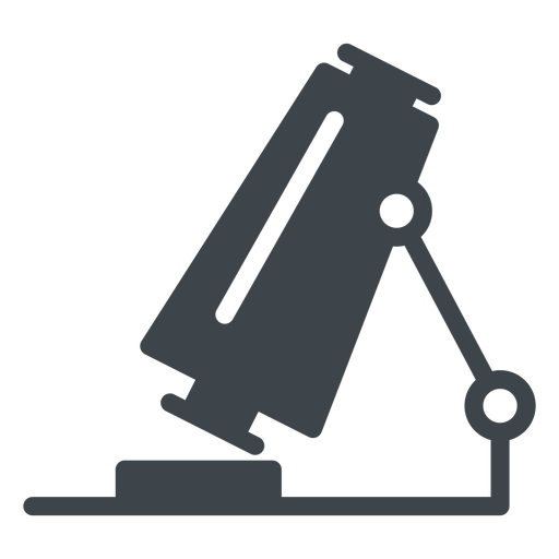Microscope flat school icon Transparent PNG